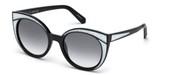Kupovina ili uvećanje ove slike, Swarovski Eyewear SK0178-01B.