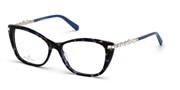 Kupovina ili uvećanje ove slike, Swarovski Eyewear SK5343-55A.